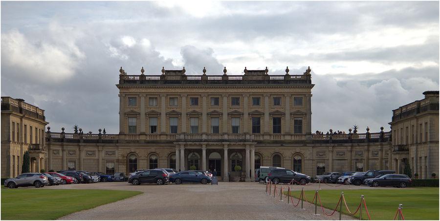 Cliveden House (Hotel) front entrance....