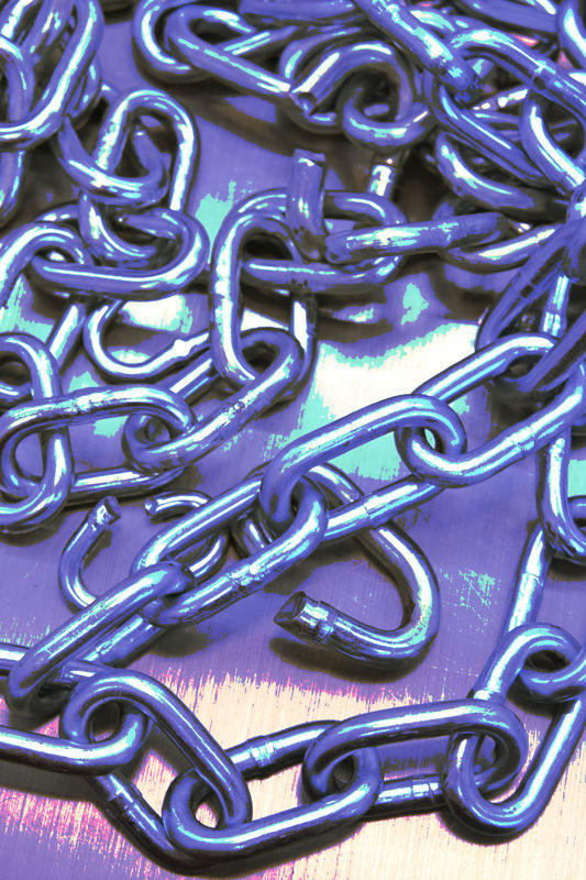 ….a pile of chain in Home Depot>?...